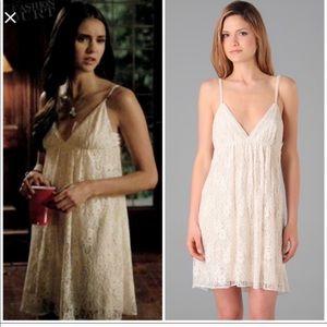 """Alice & Olivia """"Jenny"""" Lace Slip Dress XS"""